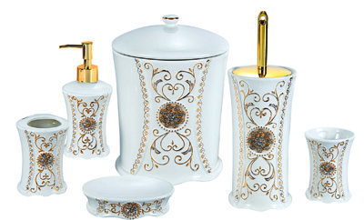 Morden Ceramic Bathroom Set 6PCS