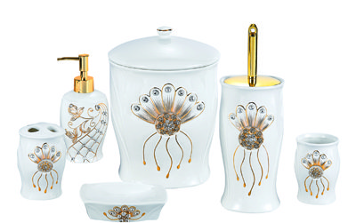 Ceramic Bath Set 6PCS